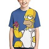 YYTY Funny The Simp-Sons Kurzarm-T-Shirts für Kin