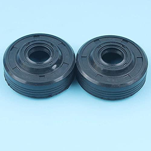 2 X Juego de Sellos de Aceite de manivela compatibles con Husqvarna 137136 31 46141 E 142235 E 236240 Piezas de Repuesto para Motosierra 530056363
