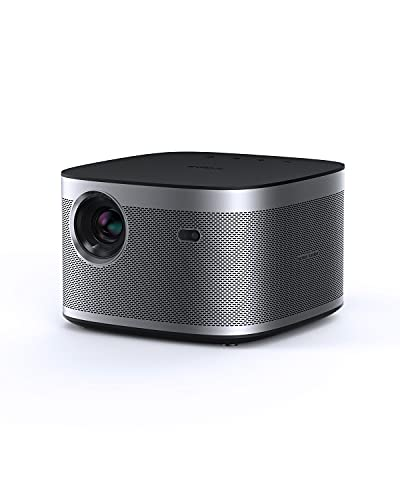 Xgimi Horizon Proyector WiFi Cine en casa, Proyector 1080p Compatible con 4k, 2200 ANSI Lúmenes, Altavoz Harman Kardon, Android TV 10, Enfoque automático Corrección Trapezoidal automática