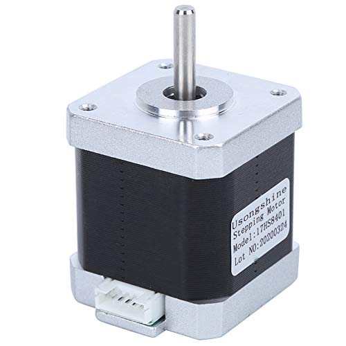 【𝐒𝐩𝐫𝐢𝐧𝐠 𝐒𝐚𝐥𝐞 𝐆𝐢𝐟𝐭】Stepper Motor, with 4 Pin Cable Stable Alloy Durable 17HS8401 Stepper Motor, for 3D Printer Surveillance Equipment