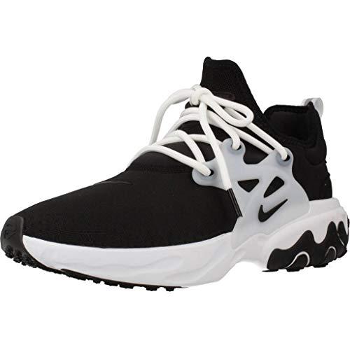 Nike Men's React Presto Black/Black/White AV2605-003