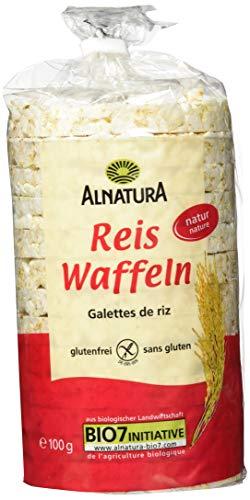 Alnatura Bio Reiswaffeln ohne Salz, 100g
