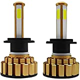 Kit fari per auto, fari a LED per auto, kit di conversione lampadine per fari a LED per auto G7 da 1 paio 80 W 8000 LM 6000 K universale per tutti i modelli(H7)