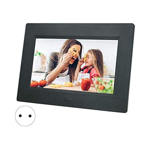 Chanmee WiFi Digitaler Bilderrahmen10.1 Zoll, Elektronischer Bilderrahmen 1280 * 800 IPS Display Smart Fotorahmen Foto Video Kalender Wecker Wetter