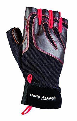 Body Attack Sports Nutrition Trainingshandschuh Deluxe - Performance Handschuh - atmungsaktiv & rutchfest (M)