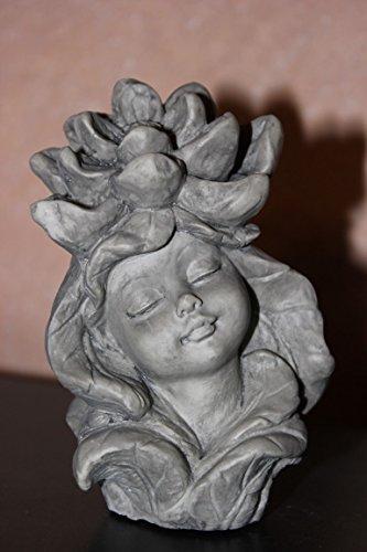 Blumenkind Seerose, z. Aufstecken auf Stab (jedoch Lieferung o. Stab), Gartenelfe