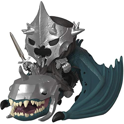 Funko Pop Movies : The Lord of The Rings - Witch King on Fellbeast 3.75inch Vinyl Gift for Fantasy Movie Fans SuperCollection