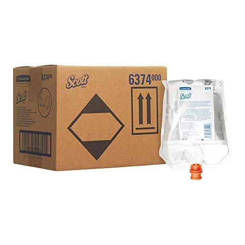 Scott Toilettensitz- und Oberflächenreiniger 6374, transparent, 1 x 400 ml (400 ml gesamt)