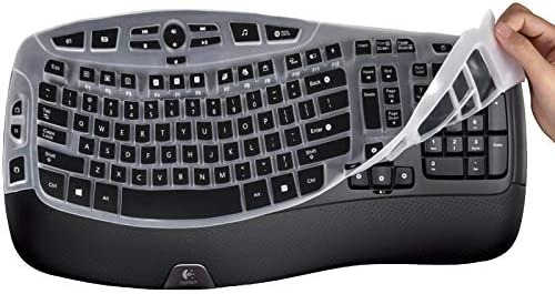 Lapogy Keyboard Cover Skin for Logitech MK550 Logitech K350 MK550 MK570 Accessories Ultra Thin product image