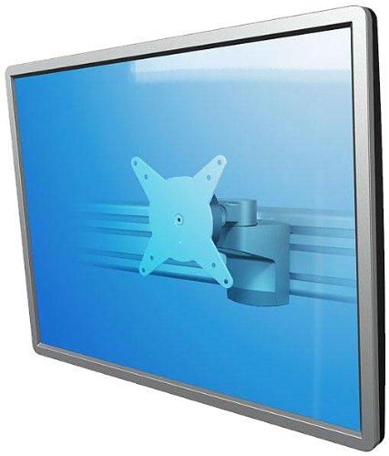 Dataflex 58.402 ViewLite 402 - Supporto per monitor SlatWall da 8 kg fino a 61 cm VESA 100 x 100 cm