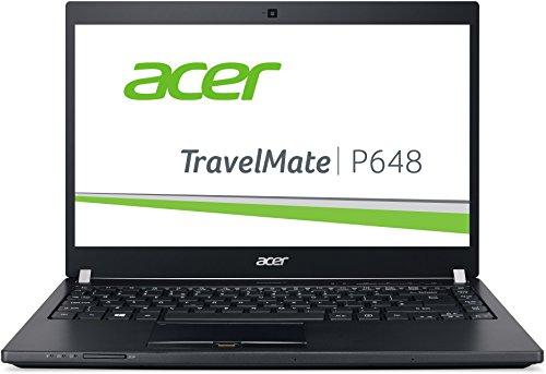 Acer TravelMate P648 (P645-M-58J5) 35,6 cm (14 Zoll Full HD IPS) Laptop (Intel Core i5-6200U, 8GB RAM, 256GB SSD, Intel HD Graphics 520, Win 10 Home) schwarz