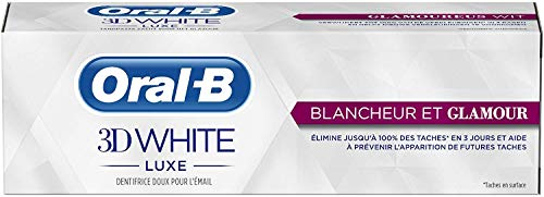 Oral-B 3D White Dentifrice Luxe Éclat et Glamour,...