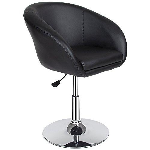 TecTake Tabourets de Bar Chaise Fauteuil bistrot réglable pivotant siège Design - diverses modèles - (1x Bernhard | no. 401573)