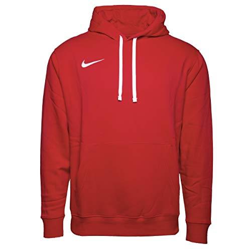 NIKE M NK FLC PARK20 PO Hoodie Sweatshirt, University Red/White/White, 3XL Mens