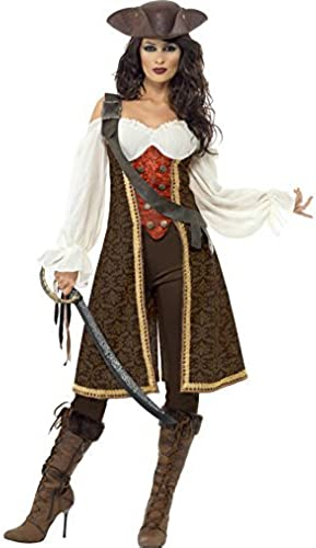 MesLes dames Deluxe Pirate des voitureaïbes Costume de serveuse Tailles M et L