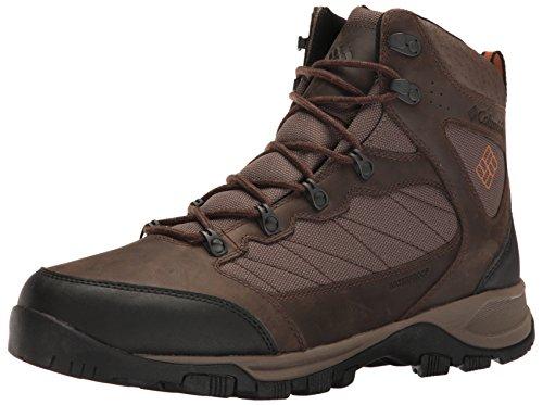 Columbia Herren Cascade Pass Waterproof Trekking-& Wanderstiefel, Braun (Major/Bright Copper), 42 EU