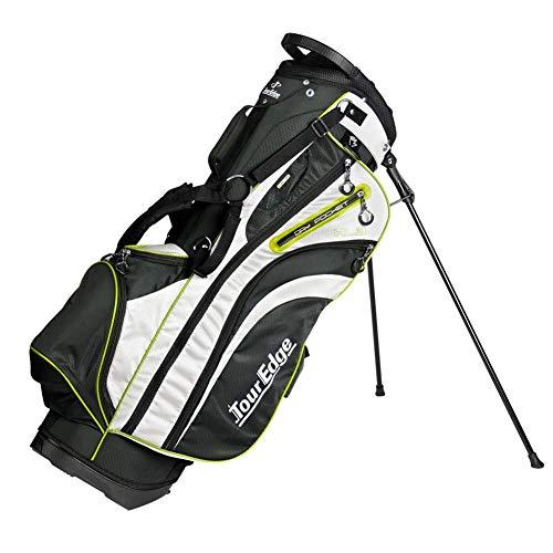 Tour Edge Unisex UBAHKSB05 HL3 Golf Stand Bag Black/Silver/Lime