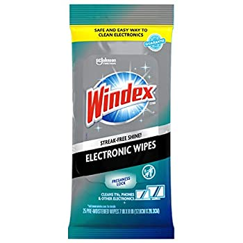 Windex Electronics Screen Wipes for Computers Phones Televisions and More 25 count