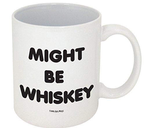 Funny Guy Tassen, möglicherweise auch Whiskey Becher, 11-ounce, weiß
