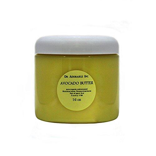 Avocado Butter Pure Raw 16 Oz