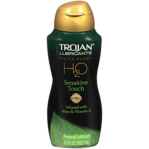Trojan Lubricants H2O Sensitive Touch, 5.5...