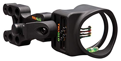 TRUGLO Carbon XS Lightweight Carbon-Composite Bow Sight, Black