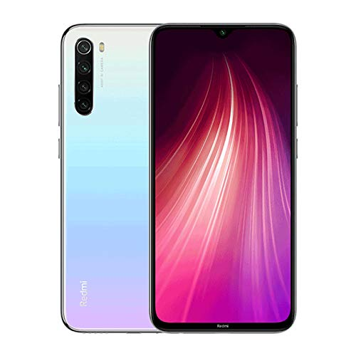 Xiaomi Redmi Note 8T - Smartphone 128Gb, 4Gb Ram, Dual Sim, Moonlight White