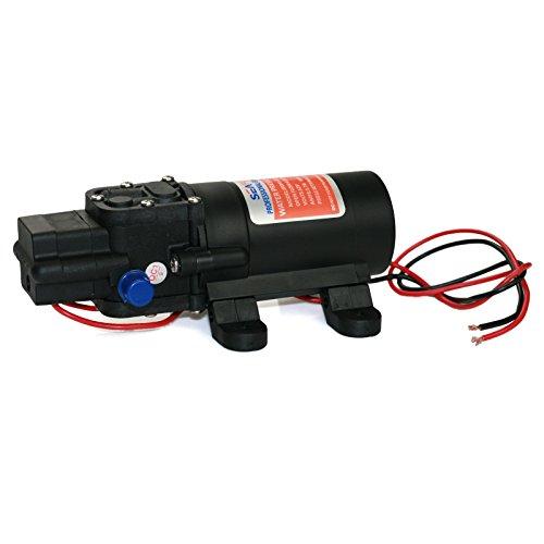 Seaflo 12V DC 1.2 GPM 35 PSI 21-Series Diaphragm Water Pressure Pump for Caravan RV Boat Marine