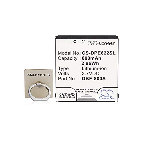 Replacement Battery for Doro DBF-800A,DBF-800B, Fit Doro PhoneEasy 622,PhoneEasy 622GSM,3.70V,800mAh,Li-ion