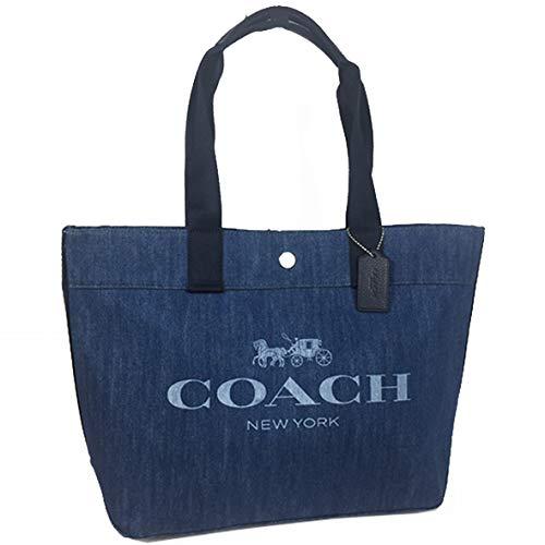 COACH(コーチ)『ロゴキャンバスデニムトート』