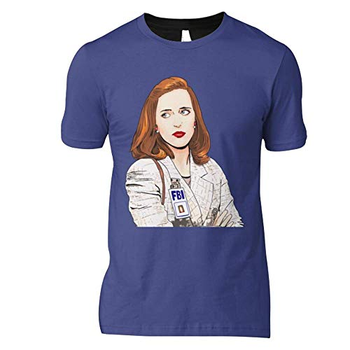 The X Files I Want To Believe Dana Scully Classic T-Shirt Graphic Trending Unisex Youth Shirt Funny Hot Fashionable Casual Cute Simple