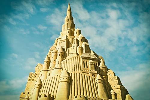 1000 piezas de rompecabezas de alta gama, rompecabezas de madera de escultura de arena de Sandberg, juegos educativos para adultos y niños, una buena opción para aliviar el estrés.