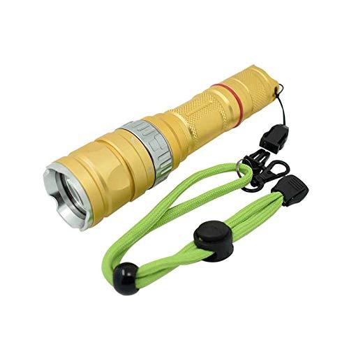 Led Flashlight Plongée Torche imperméable à l'eau Led Flashlight Underwater 100m Keychain Flash Light Dive Lampe Submersible Lanterne