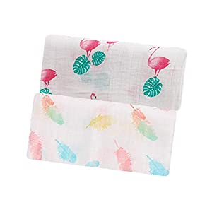 Arrow-Baby Muslin Swaddle Blankets Baby Swaddle Blanket for Newborns, Pack of 2
