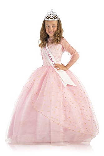 Upyaa - Coffret Miss France Deluxe 8-10 ans - robe et accessoires - 430258