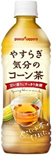 ポッカサッポロ やすらぎ気分のコーン茶 500ml×24本