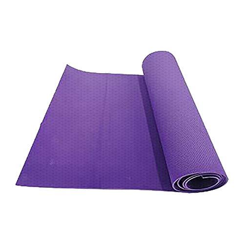 LANJIA Esterilla de Yoga Esterilla Antideslizante para Ejercicios, Equipo de Entrenamiento Ideal para Yoga, Pilates y Gimnasia para Entrenamiento Intenso - Correa de Transporte y Regalo incluidos
