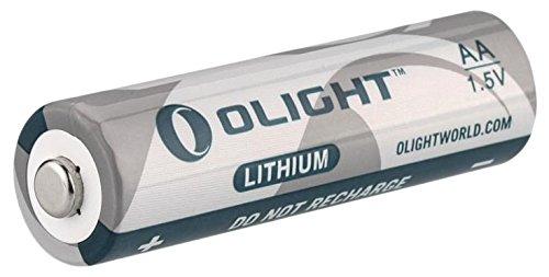 Olight olfb-aa–PILA LITIO di 1.5V, colore: bianco