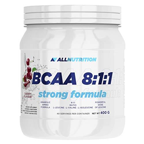 Allnutrition BCAA 8:1:1 Strong Formula, Lemon, 400g