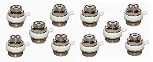 Durovent - automatische Heizkörperentlüfter 10er Vorteils-Sparpack 1/2' Metallausführung
