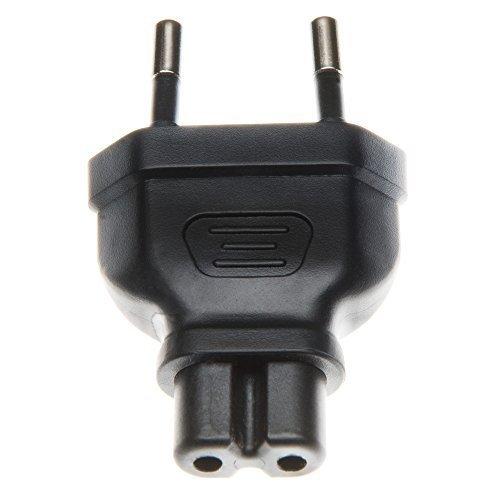 Adaptador de corriente adaptador enchufe plano a europeo-8 | Ideal para cámara-cargadores...