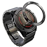 ibasenice Bisel Compatible Garmin Fenix 5X/Fenix 5X Plus Bezel Ring - Reloj Anti Arañazos Carcasa de Reloj Funda Protectora Reloj Elegante Marco Reloj Accesorios