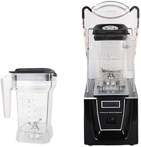 1,5 litros de hielo profesional batidora mezcladora profesional for Robot de cocina batidora eléctrica for exprimidor con otro vaso de la licuadora (color: negro) (Color: Blanco) angelHJQ