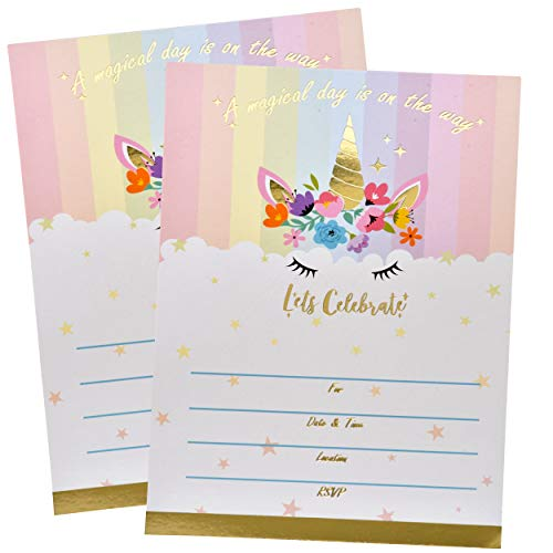 10 best fairy birthday invitations for girls for 2020