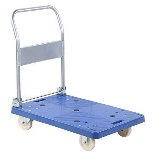 GOTOTOP - Carro de transporte plegable con panel de coche de nailon, 90 x 86 x 55 cm, color azul
