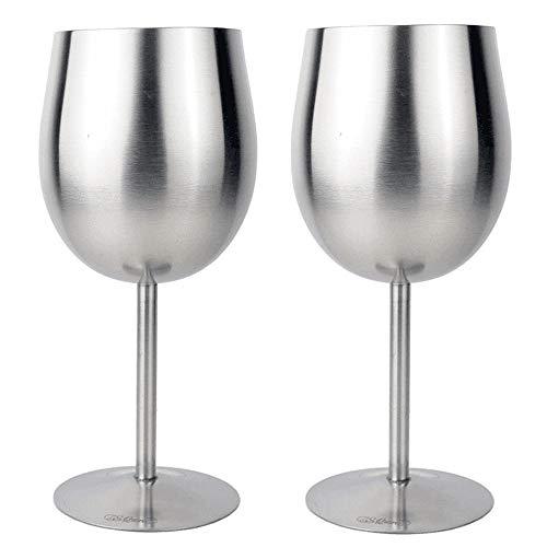 Vasos de agua de acero inoxidable para copas góticas de vino, copas de vino, copas de vino, copas de whisky, copa de vino