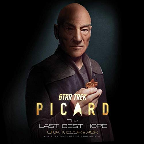 Star Trek: Picard: The Last Best Hope audiobook cover art
