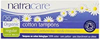 海外直送品Natracare Tampons, REGULAR, 20 CT (Pack of 4)