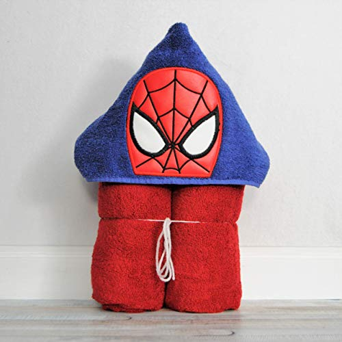 Spider Web Hero Hooded Bath Towel for Baby Child and Teens