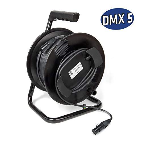 P Prettyia Cable de Audio Adaptador de 2X 6.35mm 1//4 a 2 para Canon Macho a Macho Cable Balanceado de Micr/ófono 150cm